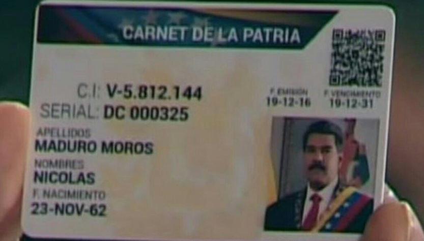 carnet patria