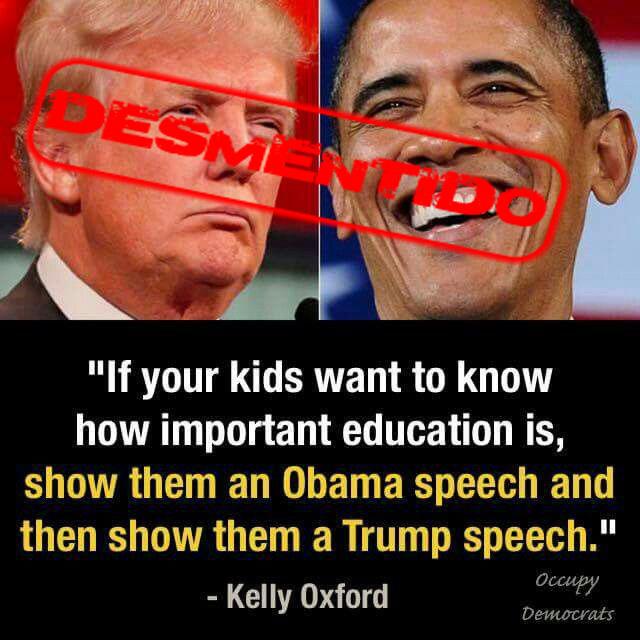speech desmentido